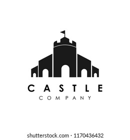 castle logo vector