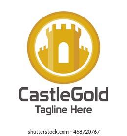 Castle Protection Logo Template