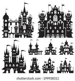Castle Vector Set D