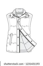 Casual Male Vest Winter Slim
