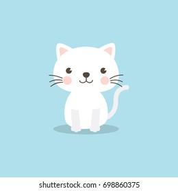 Cute Cat Cartoon Images Stock Photos Vectors Shutterstock