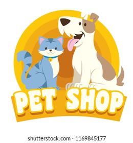 cat & dog petshop design
