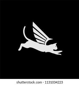 the cat fly logo