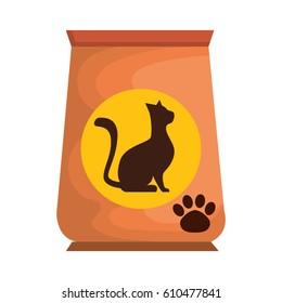 cat food bag icon