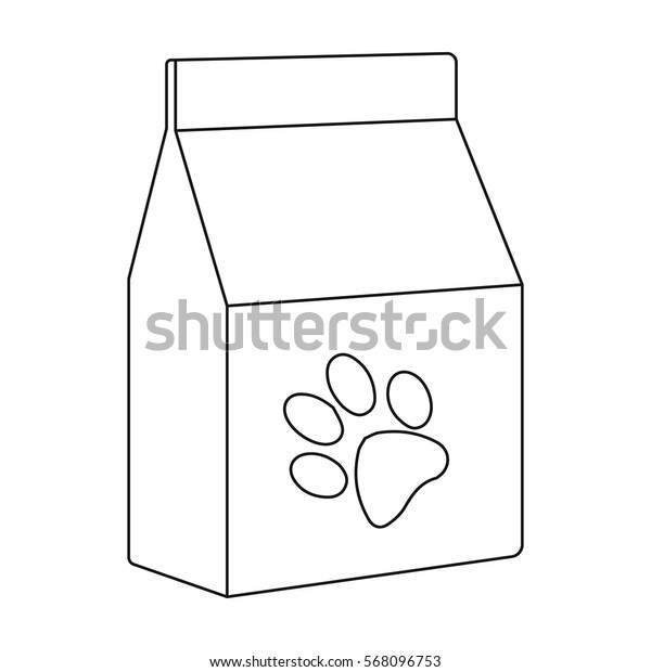 Cat food icon of vector illustration for web and mobile