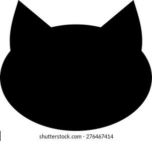 Cat head icon