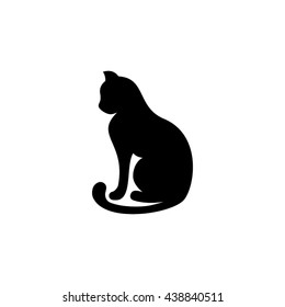 cat icon vector illustration EPS 10