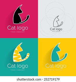 Cat logo or symbol