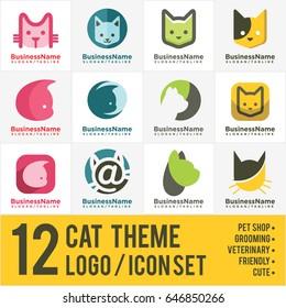 cat logo/icon bundle