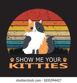 Cat Lover - Cute Cat T-shirt