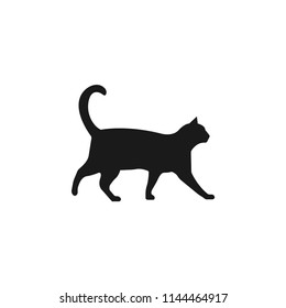 cat, pet vector icon.animal, cute,kitten, domestic, kitty, happy, feline, adorable, funny symbol isolated