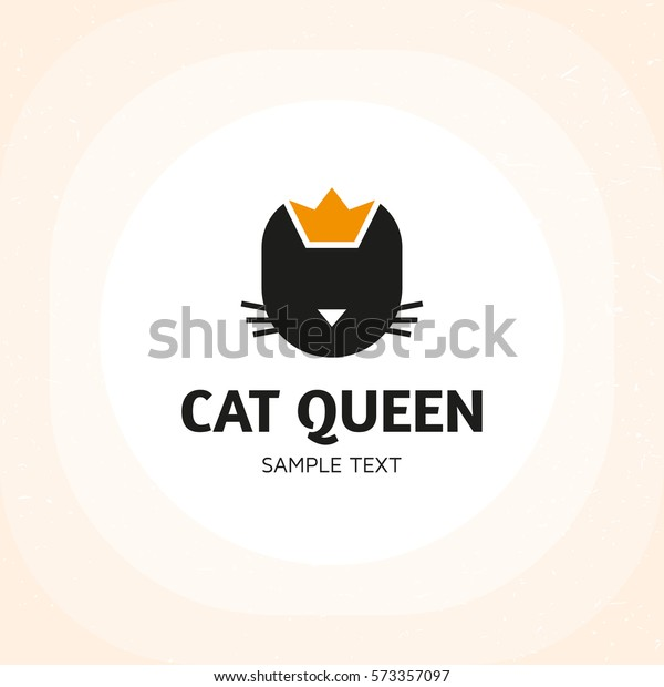 Cat Queen Animal Logo Design Template Stock Vector Royalty Free 573357097,Layout Interior Design Templates
