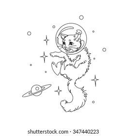 Cat in space #3