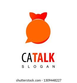Cat Talk Pet Consulting Logo