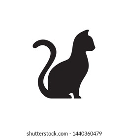cat vector icon symbol logo design illustration