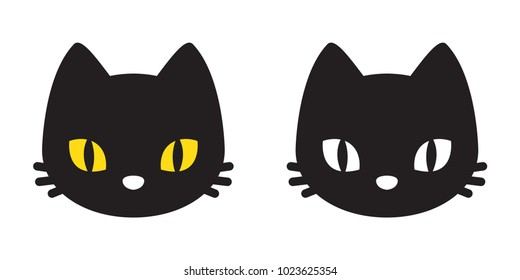 cat vector illustration character kitten cartoon icon logo Halloween
