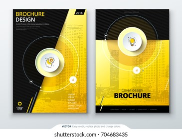 Catalog cover design. Corporate business brochure, annual report, catalogue, magazine template layout concept. Creative catalog vector concept