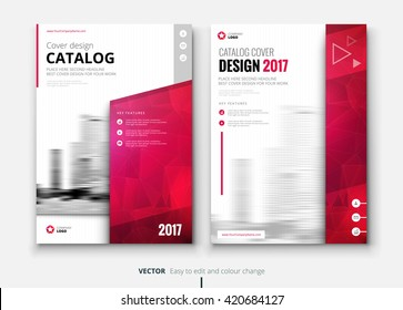 Catalog design. Corporate business annual report brochure flyer design. Leaflet cover presentation. Catalogue with abstract background. Modern publication poster magazine, layout, template. A4 size