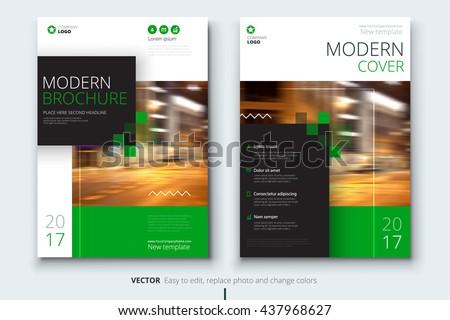 catalog design corporate business template brochure のベクター画像