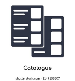 Catalogue icon vector isolated on white background for your web and mobile app design, Catalogue logo concept