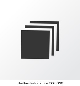 Category Icon Symbol. Premium Quality Isolated Group Category Icon Element In Trendy Style.