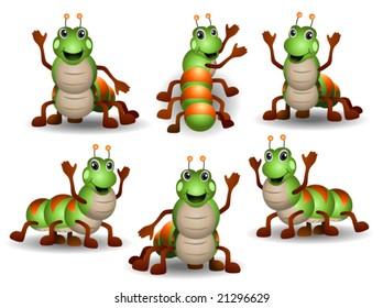 Caterpillars - Vector