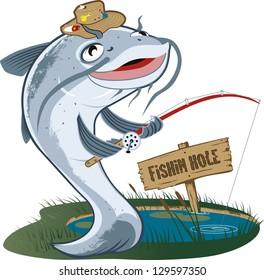 Catfish Fisherman