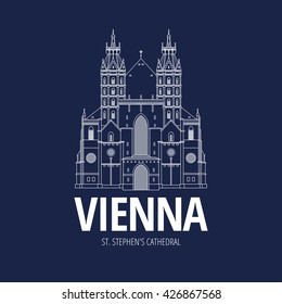 Cathedral in Vienna Austria