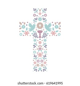 First Communion Invites Images Stock Photos Vectors Shutterstock