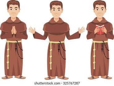 catholic monk Franciscan