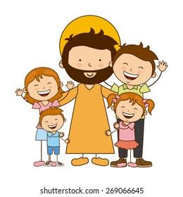 catholic religion design, vector illustration eps10 graphic