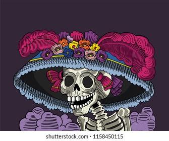 catrina halloween mexican