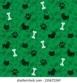 cats and dogs wallpaper pattern/cats and dogs/pets