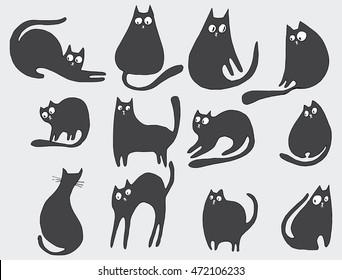 Cute Kitten Drawing Images Stock Photos Vectors Shutterstock