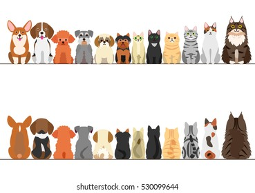 Dog Cat Small Animal Stock Illustrations, Images & Vectors