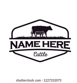 cattle logo design inspiration