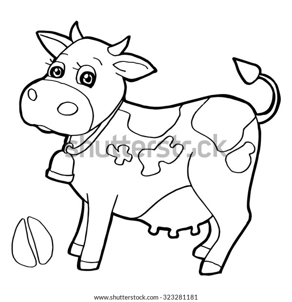 Cattle Paw Print Coloring Pages Vector Stock Vector (Royalty ...
