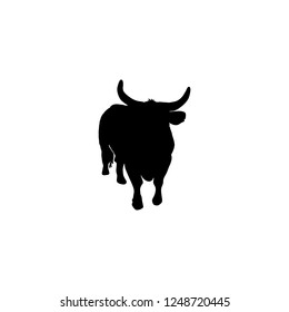 cattle vector icon. cattle sign on white background. cattle icon for web and app