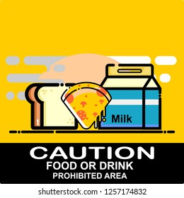 caution, food and drink