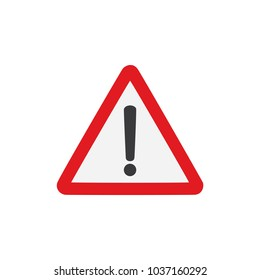 Caution sign, vector illustration design. Signals collection.