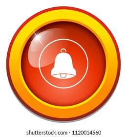 caution sign. vector notification alarm. bell icon - emergency symbol