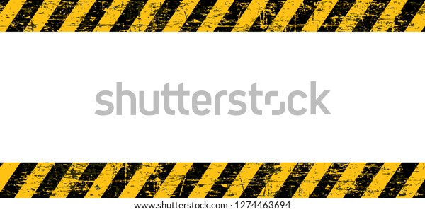 Caution Website Under Construction Old Web Stock Vector (Royalty