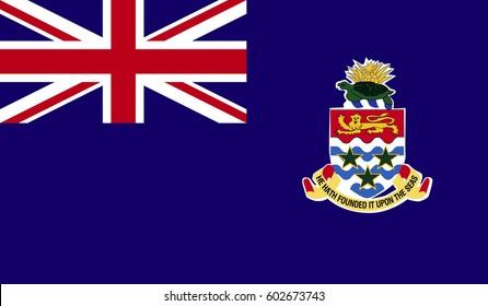 Cayman Islands Flag Vector