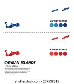 Cayman Islands geometric concept design