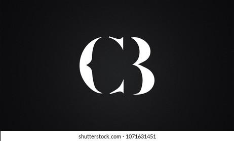 CB Letter Logo Design Template Vector