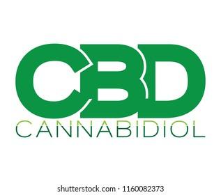 CBD Cannabidiol logo