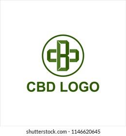 cbd logo design