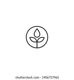 CBD Logo design vector illustration