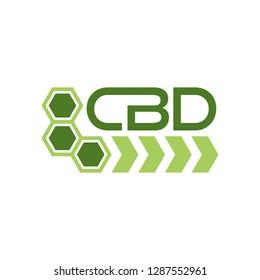 CBD logo vector.