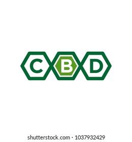 CBD vector logo
